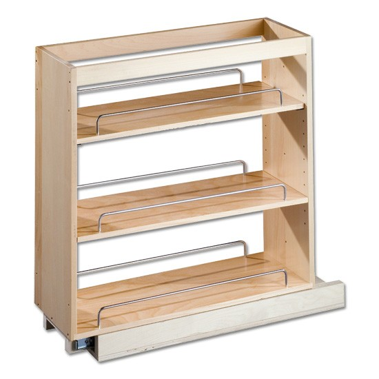 A Shelf 58 15c 5 Chrome Pull Out Basket: Cabinet Pull Out Shelves