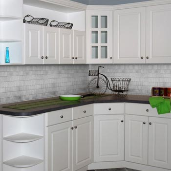 Raised Panel Kitchen Cabinets | Custom Service Hardware
