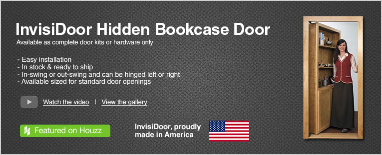 InvisiDoor Hidden Bookcase Door