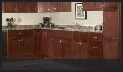 Flat Panel Kitchen Cabinets | Custom Service Hardware