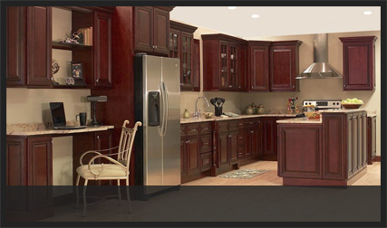 Raised Panel Kitchen Cabinets Custom Service Hardware