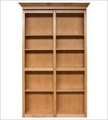 Bi-Fold Bookcase
