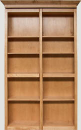 Bi-Fold Bookcase Door