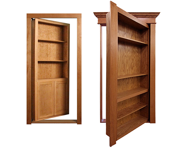 Custom Service Hardware Home – Ready to Assemble Bookcase