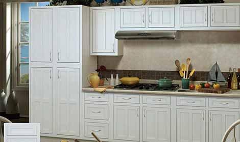 Palmetto White Series Cabinets at 20% OFF
