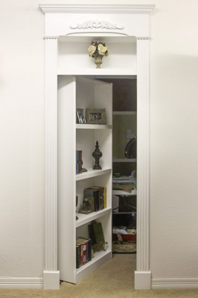 Hidden Doors Custom Service Hardware