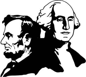 Abraham Lincoln & George Washington