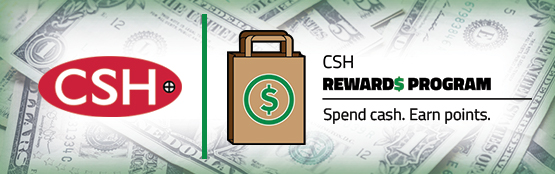 CSH Reward Points
