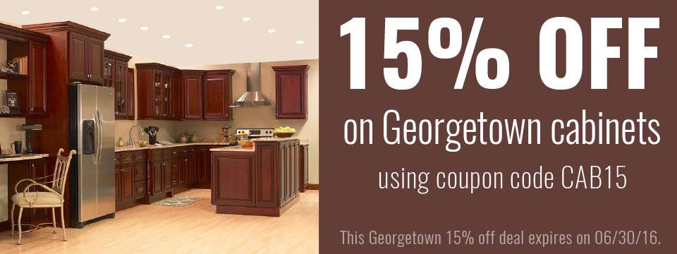 Georgetown Cabinet Series 15% Off