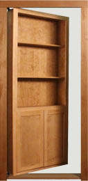 Pivot Bookcase Door