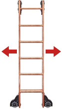 step 1 rolling nonrolling ladder